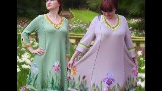 Вязаные платья Риммы Чернышевой