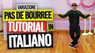 Hip Hop Tutorial Ita - Variazione Pas De Bourree - shuffle 2019