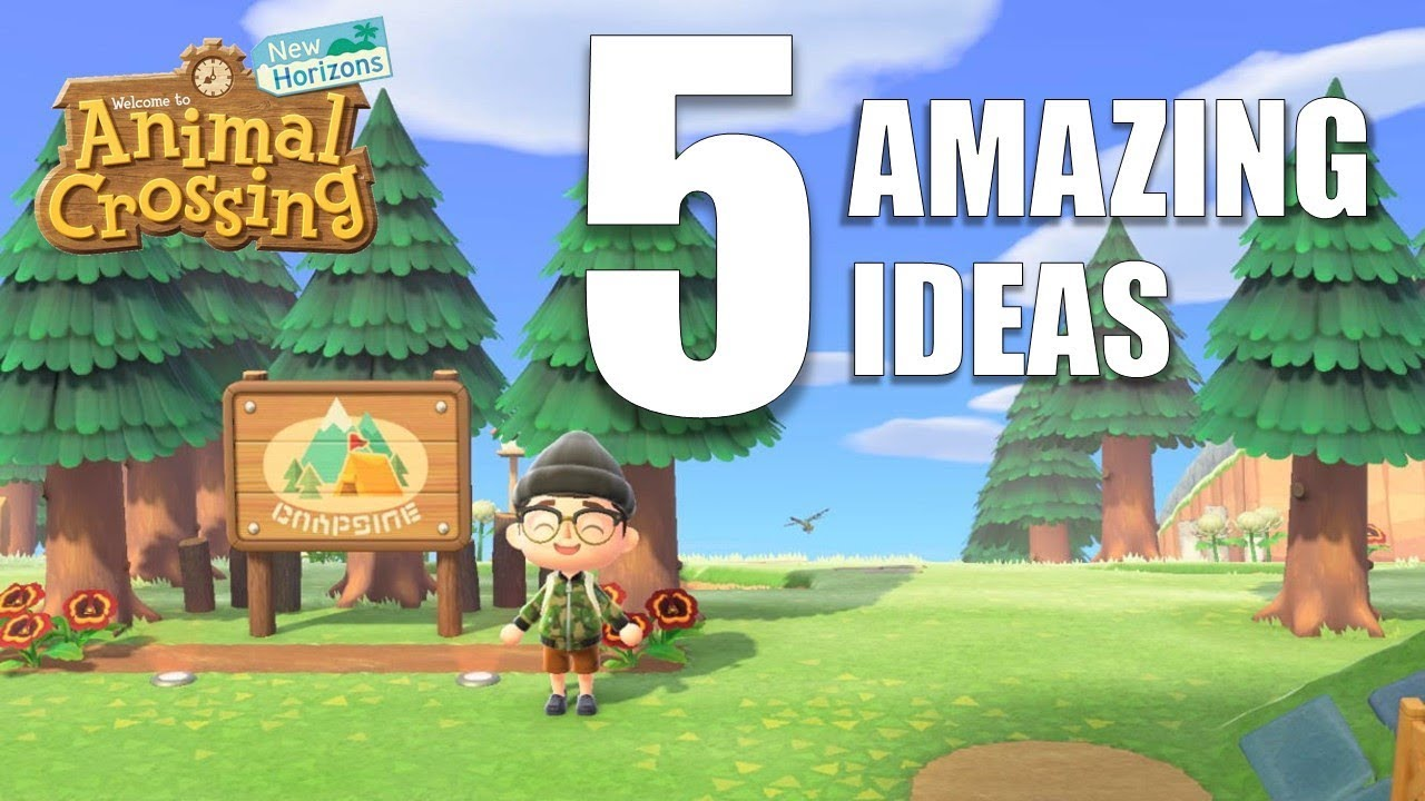 5 Amazing Design Ideas For Your Island Animal Crossing New