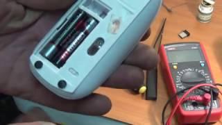 Беспроводная мышка  ремонт