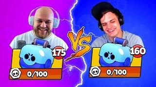 БИТВА СУНДУКОВ BRAWL STARS! SHAMPANOV vs Bazya Game