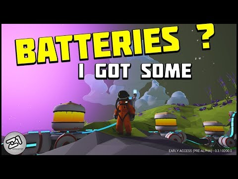 Radiated , Arid , Lithium and BATTERIES ! Lets Play Astroneer gameplay Z1 Gaming