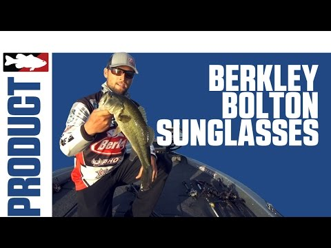 Berkley Bolton Sunglasses With Justin Lucas On Lake Guntersville