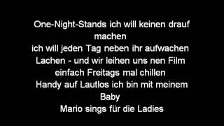 Kay One feat. Mario Winans - I Need A Girl Part 3 (Songtext/Lyrics)