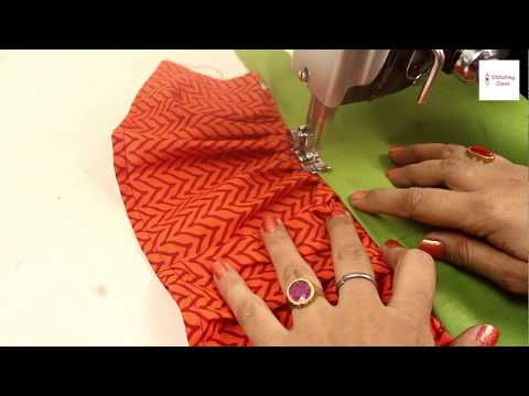 Sleeve design cutting and stitching very easy method, sleeves designs for blouse Kurti Blouse Design