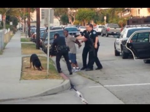 Police Kill Dog - New Footage (Graphic Video)