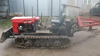 как сделать самодельный гусеничный трактор