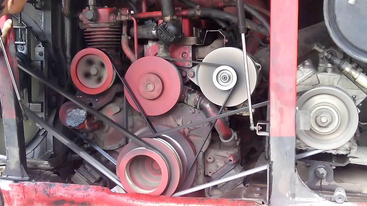 How Daewoo Bus engine run - YouTube