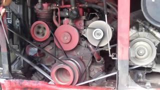 How Daewoo Bus engine run
