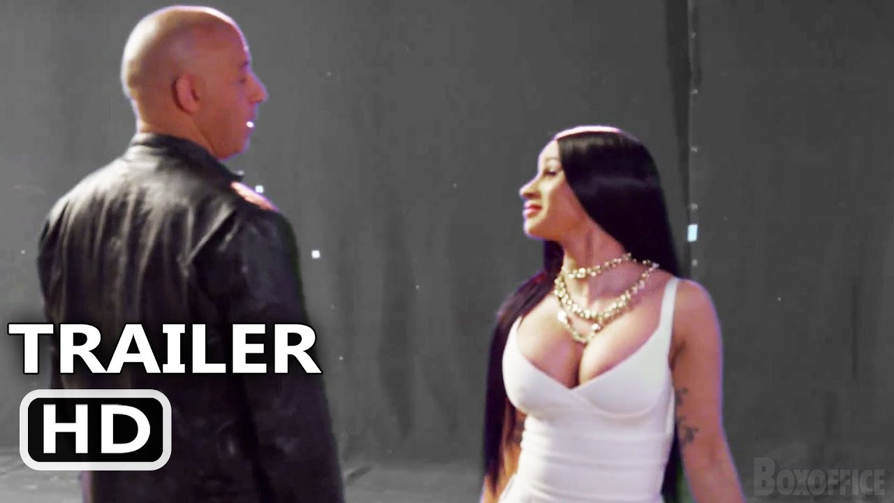 """Download FAST AND FURIOUS 9 """"Cardi B Meets Vin Diesel"""" Trailer (2021)"""