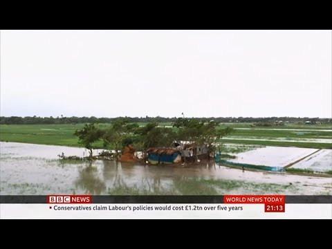 Weather Events 2019 – Cyclone Bulbul strikes (India & Bangladesh) – BBC – 10th November 2019
