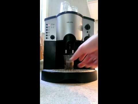 Krups Coffee Maker Quit Working : Krups 889 espresso-apparaat - YouTube