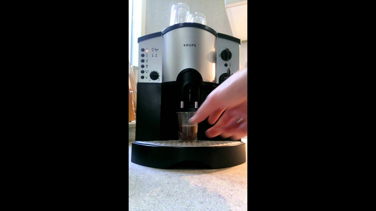 Инструкция кофемашина krups 889