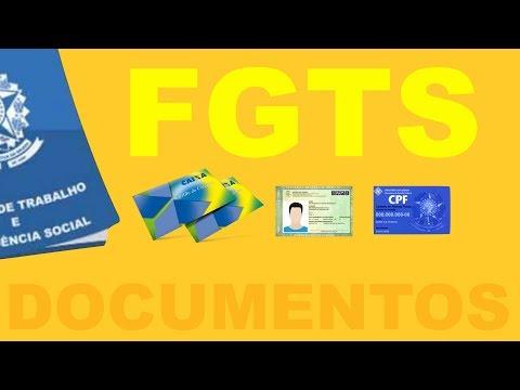 FGTS Liberado   Saque FGTS   Quais Documentos você PRECISA levar para sacar?