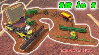 "Everything you want - 10 in 1 - The best agro setup in ""Farming Simulator 2017"""