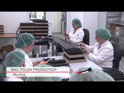 AURA cosmetics - corporative video, Serbia