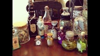 Pintober- Halloween Apothecary Jars
