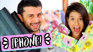 הפתעתי את אמיר עם אייפון חדש!! מחליפים מתנות ואלנטיינז! בכיתי מהתרגשות בסרטון!