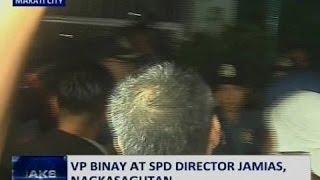 Saksi: Kampo ni VP Binay, nanindigang hindi maaaring ipatupad ang preventive suspension order
