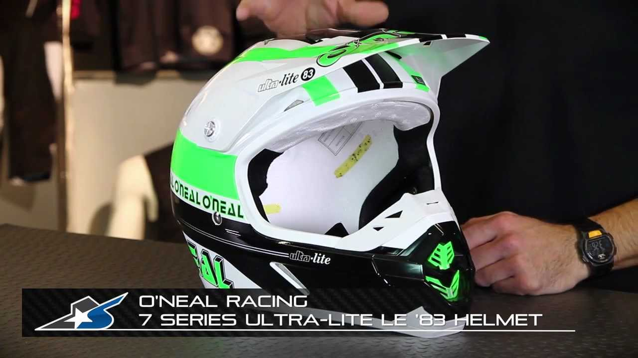 O Neal Racing 7 Series Helmet From Motorcycle Superstore Com Youtube