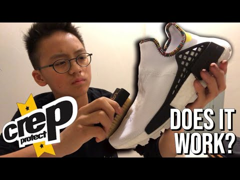 CAN CREP PROTECT SAVE MY $400 SNEAKERS?!?*insane results*
