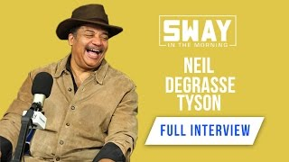 "Neil Degrasse Tyson says ""Shaq Should Not Work for NASA"" + Talks Religion"
