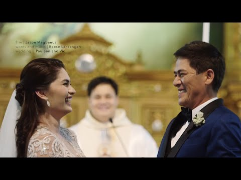 Vic Sotto and Pauleen Luna s Wedding
