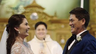Vic Sotto and Pauleen Luna