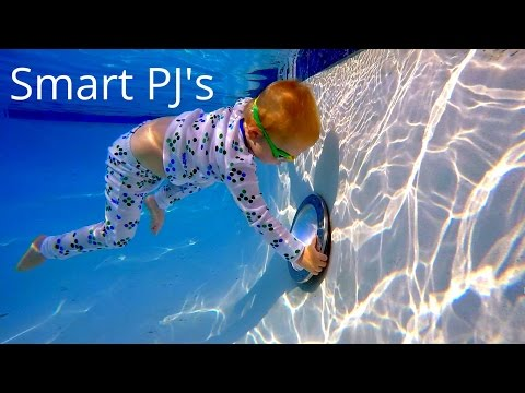 Swimming with Smart PJ's and Orbeez!