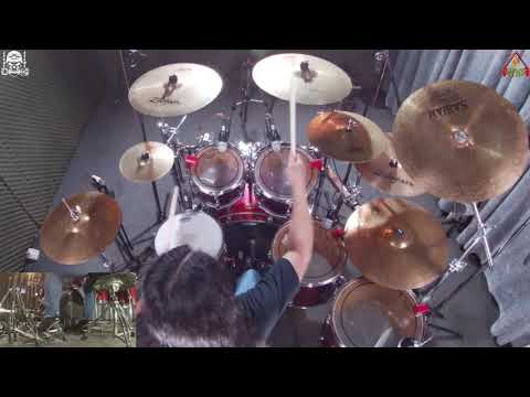 RAINBOW - A Light In The Black - Drum Cover  EDGAR DRUMS