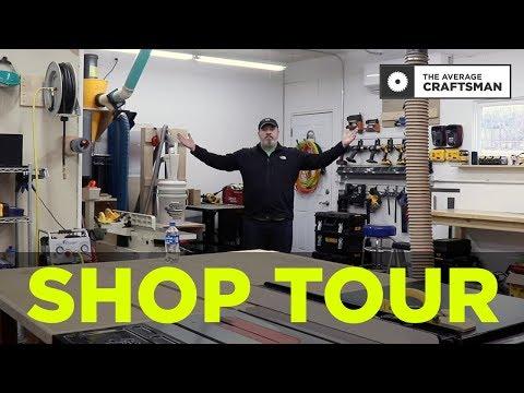 2019 Two Car Garage Woodworking Shop Tour!