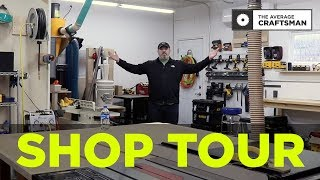 2019 Two Car Garage Woodworking Shop Tour!