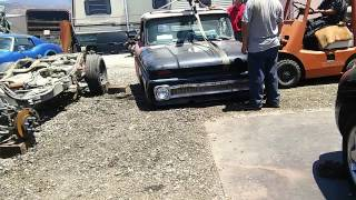 1964 Chevy c10 2004 tahoe frame swap baby