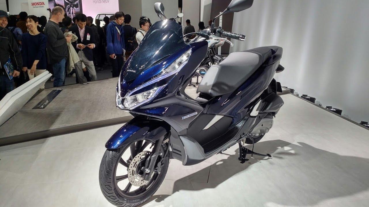Sekilas Honda Pcx Hybrid Electric 2018 Indonesia Youtube