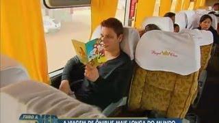 Tudo a Ver 06/09/2012: Acompanhe a viagem de ônibus mais longa do mundo, de São Paulo a Lima thumbnail