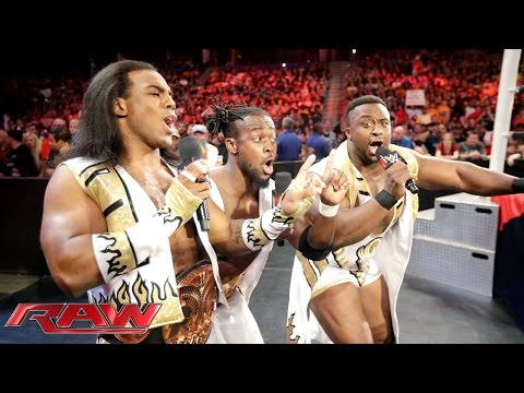 The New Day continue the #SaveTheTables movement: Raw, Aug. 31, 2015