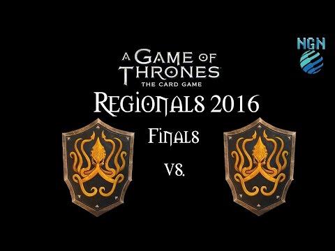 Game of Thrones LCG Maritime Regionals 2016   Finals - Greyjoy Crossing vs Greyjoy Fealty
