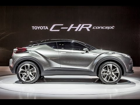 The New Toyota CHR Crossover SUV  YouTube