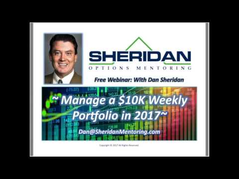 Manage a $10,000 Weekly Portfolio in 2017
