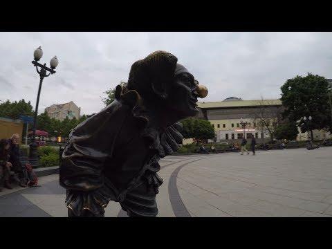 Цветной бульвар в Москве. Прогулка по бульвару! Парковая зона, ЦИРК!