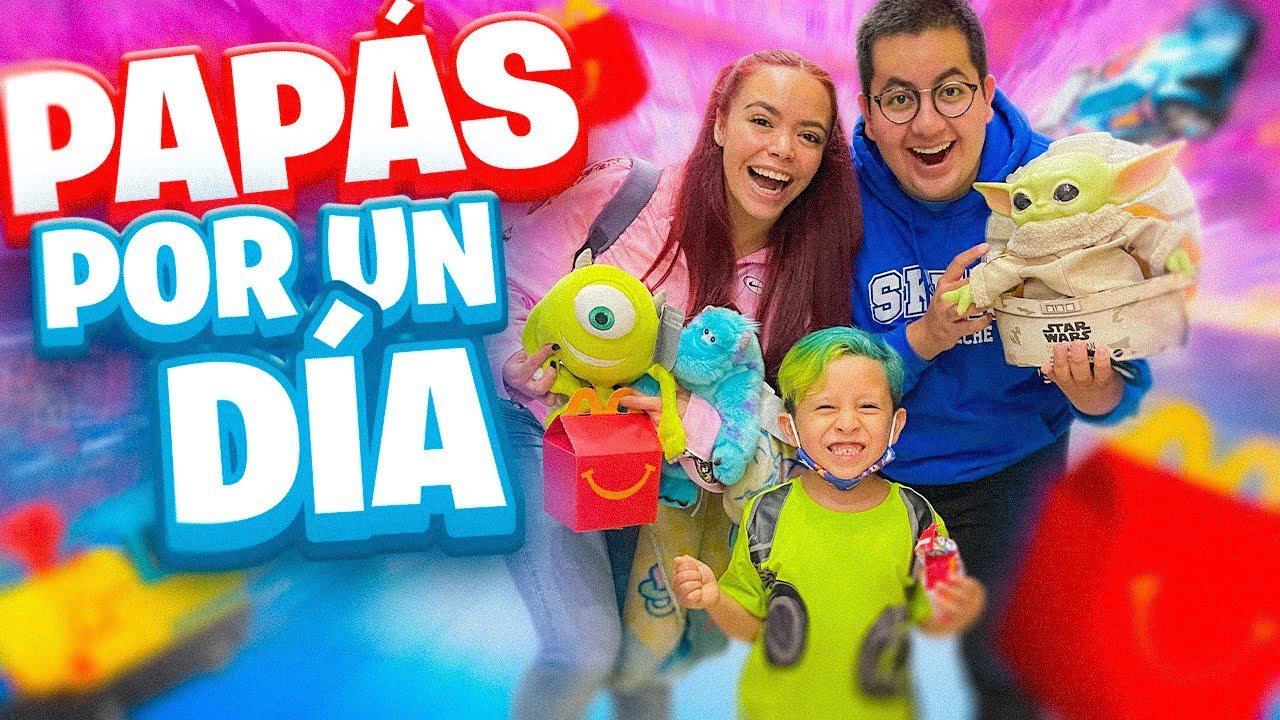 SOMOS PAPÁS DE UN NIÑO DE 5 AÑOS POR UN DÍA - XIOEDDY