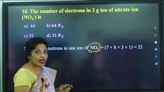 I PUC   Chemistry   CET/NEET   JEE   Some basic concepts of Chemistry
