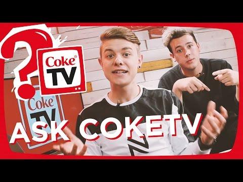 Q&A mit Jonas und CrispyRob   #AskCokeTV