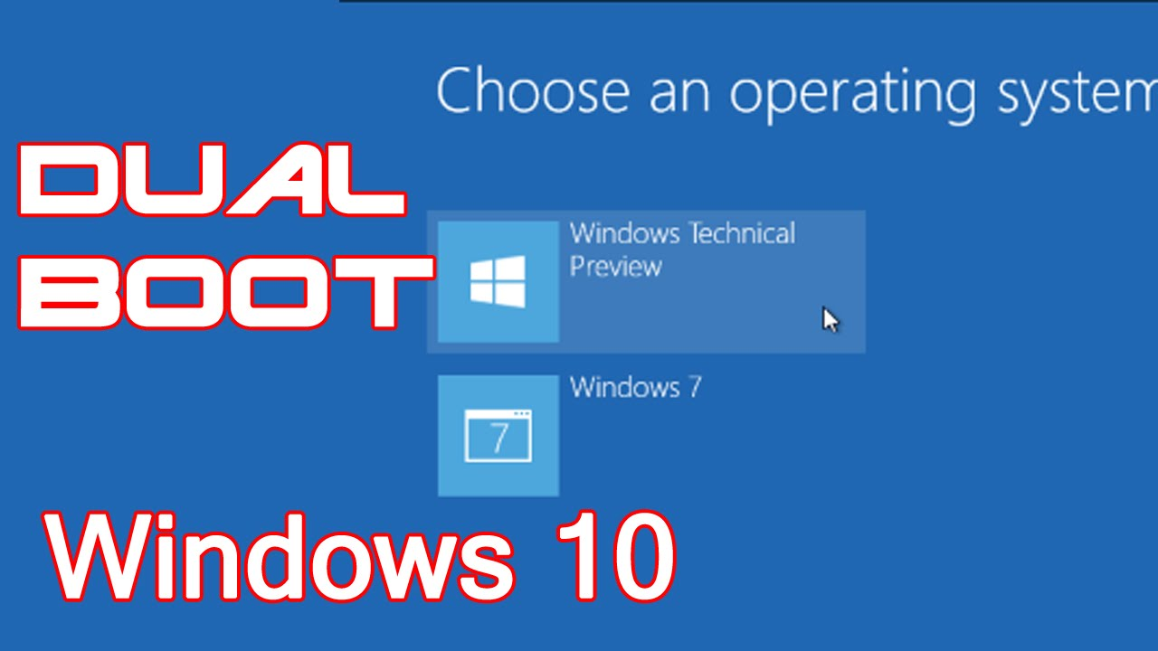 how to stop a windows 10 partition from booting
