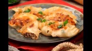 Сегодня на обед у нас супер вкусные корейские пельмени Манду