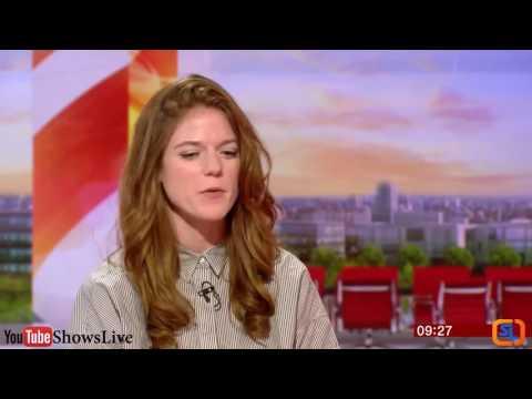 Game of Thrones Rose Leslie Interview | BBC Breakfast 2016 June 10