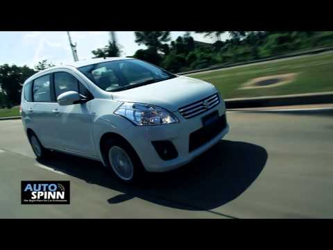 รีวิว Suzuki Ertiga 2013 ซูซูกิ เออร์ติก้า Test Drive