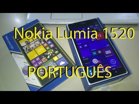 Nokia Lumia 1520 Unboxing Português