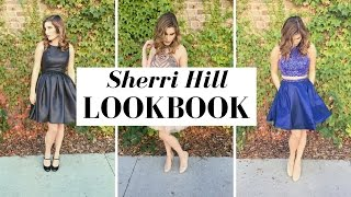 SHERRI HILL HOMECOMING LOOKBOOK