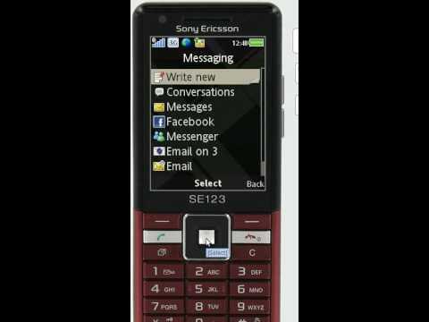 Sony Ericsson Naite.